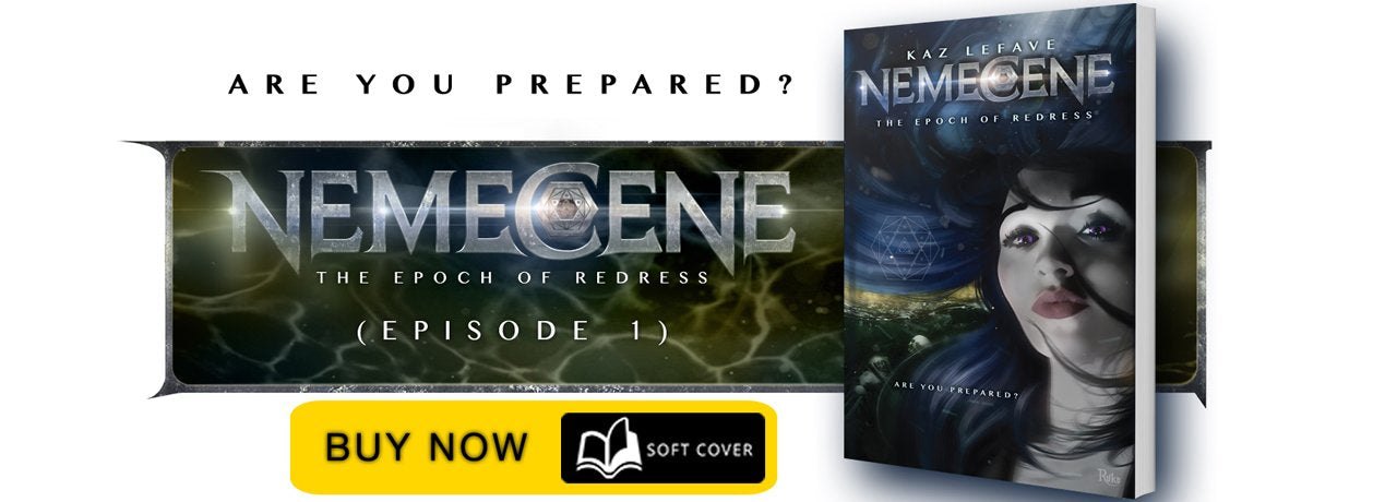 The Nemecene World by Science Fiction Author Kaz Lefave