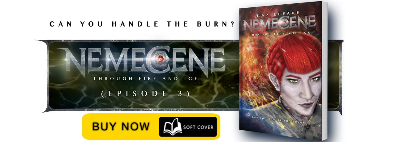Nemecene The Gadlin Conspiracy by Science Fiction Fantasy Author Kaz Lefave