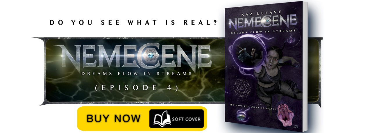 Nemecene: Through Fire And Ice by Science Fiction Author Kaz Lefave