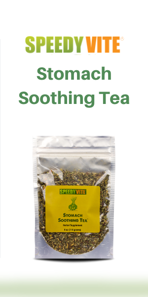 SpeedyVite Stomach Soothing Loose Leaf Tea Nature's answer for the stomach