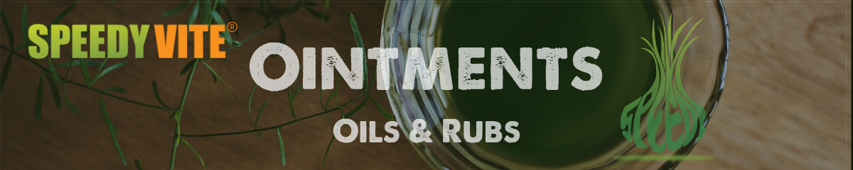 SpeedyVite Ointments Oils and Rubs
