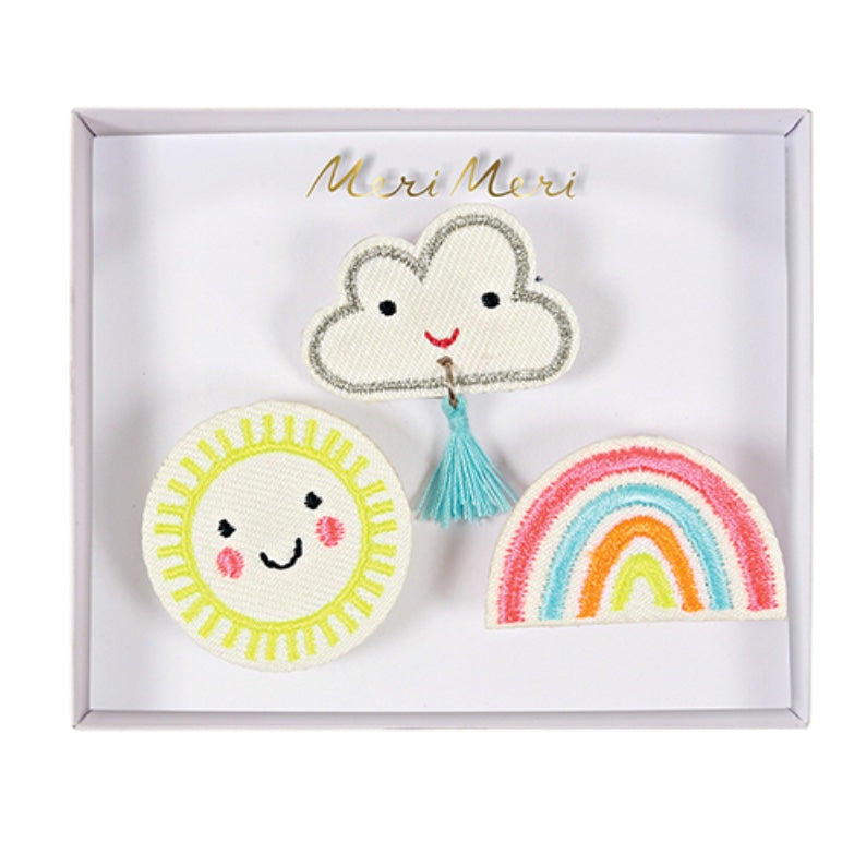 Brooches | Weather faces