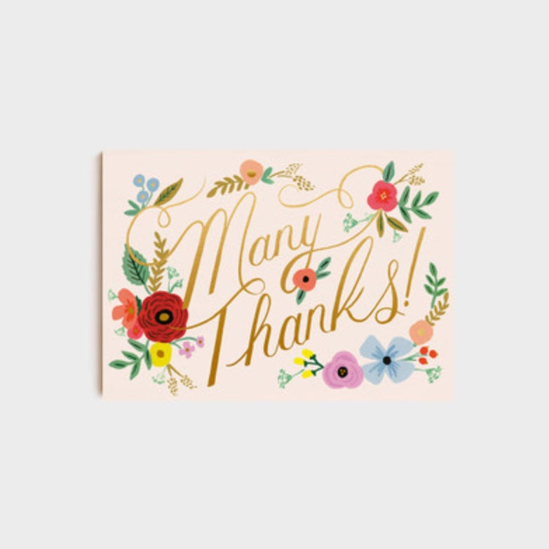 Post Card | Bouquet Thanks (10 Pack)