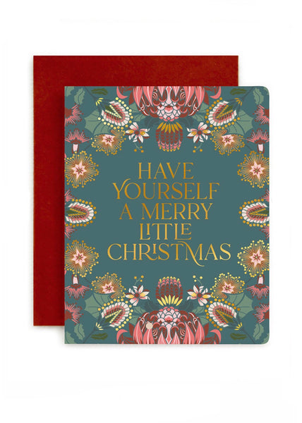 Card | Have yourself a merry little Christmas