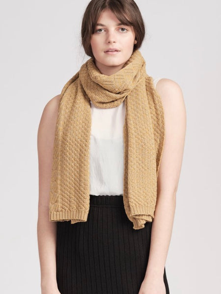 Scarf | Willoughby (Burnt Orange)