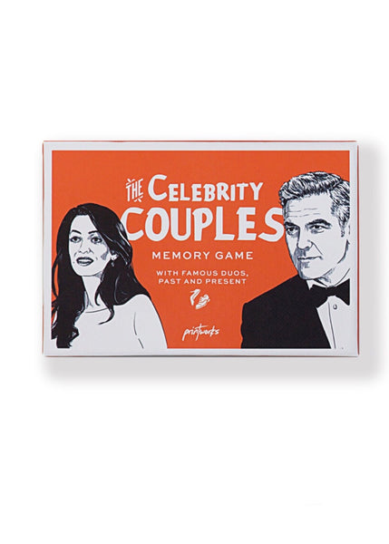 Game | Memory (Celebrity Couples)