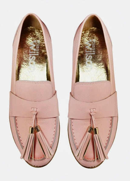Shoes | Alyssa Loafer (Rose Calf)