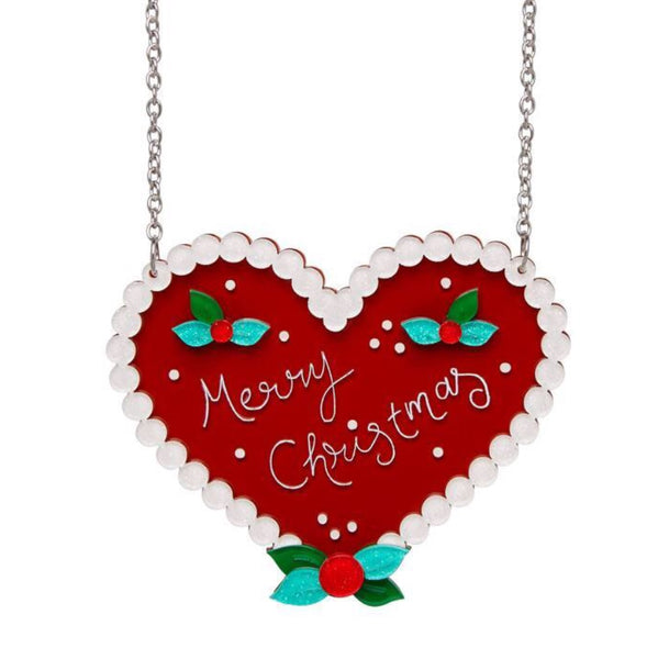 Necklace | Festive Ginger Heart