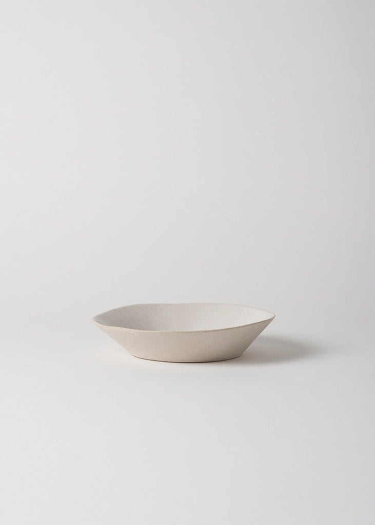 Pasta Bowl | White/Natural