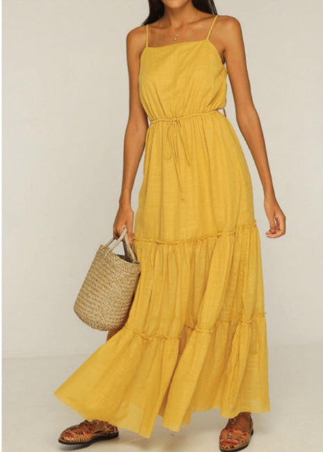 Maxi Dress | Yellow