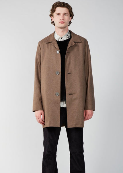 Coat | 3 Button (Nutmeg)