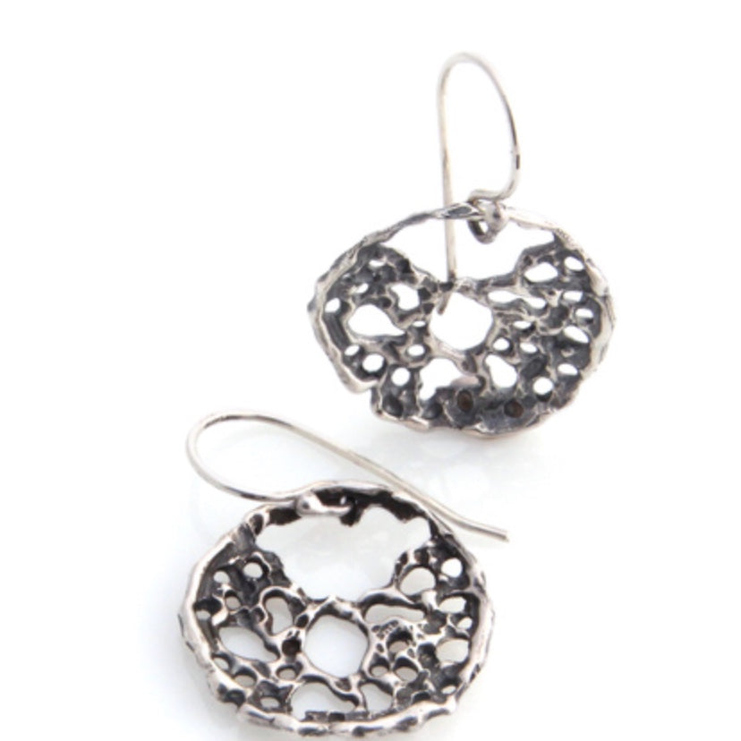 Earrings | Lace  (Silver)