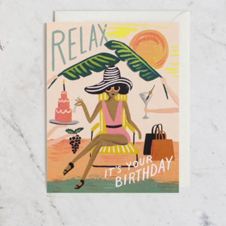 Card | Relax Birthday