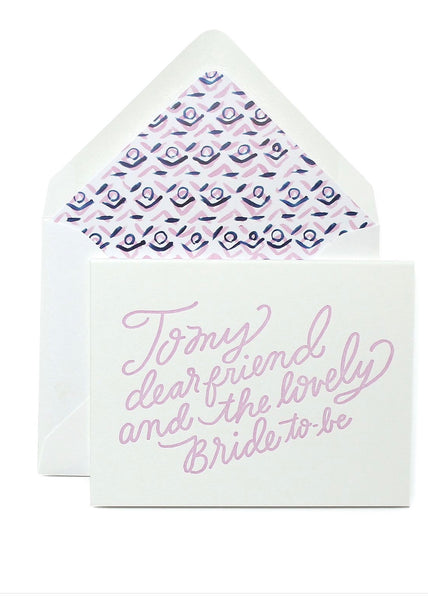 Card | Bride to be