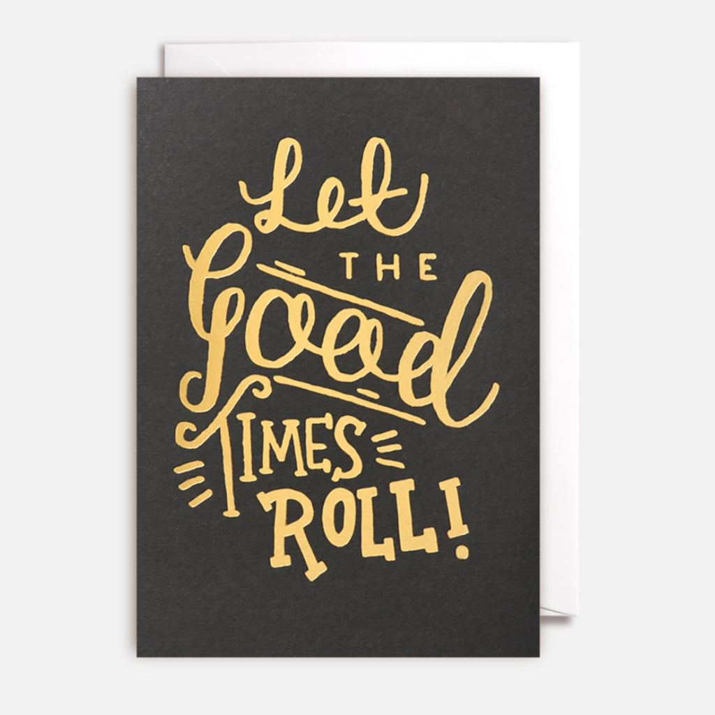 Card | Lets The Good Times Roll