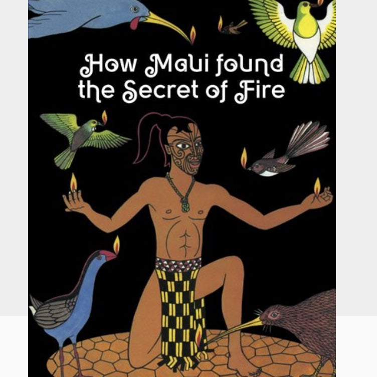 Book | How Maui found a secret Fire