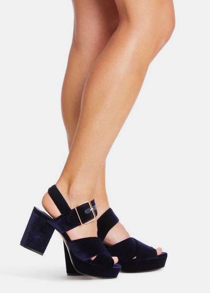 Shoes | Mariah Heel (Ink Velvet)