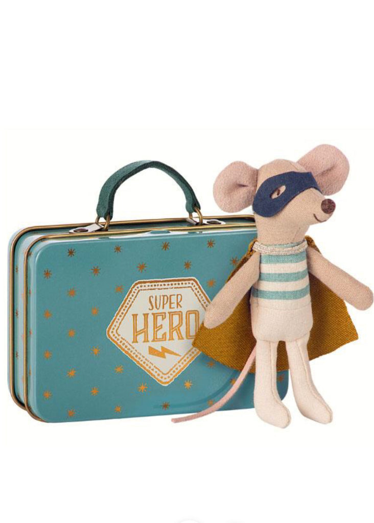 Soft Toy | Superhero in suitcase