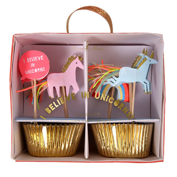 Cupcake Kit | I Believe In Unicorns