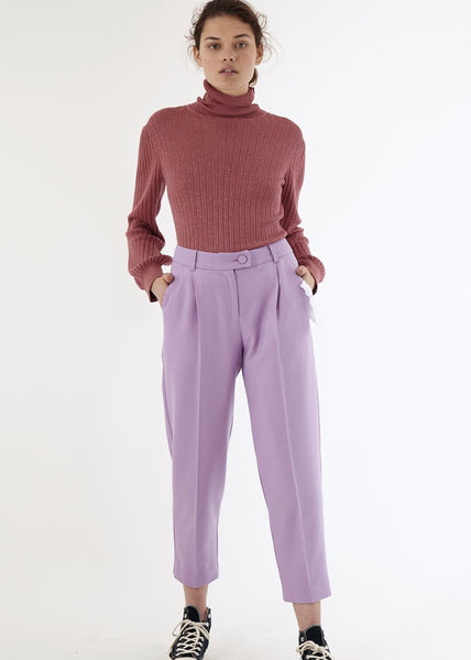 Trousers | Joyce Pants (Lilac)