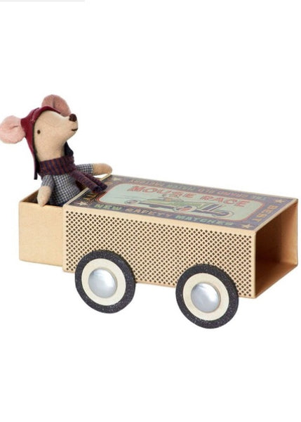 Soft Toy | Mouse Big Bro Racer in Box