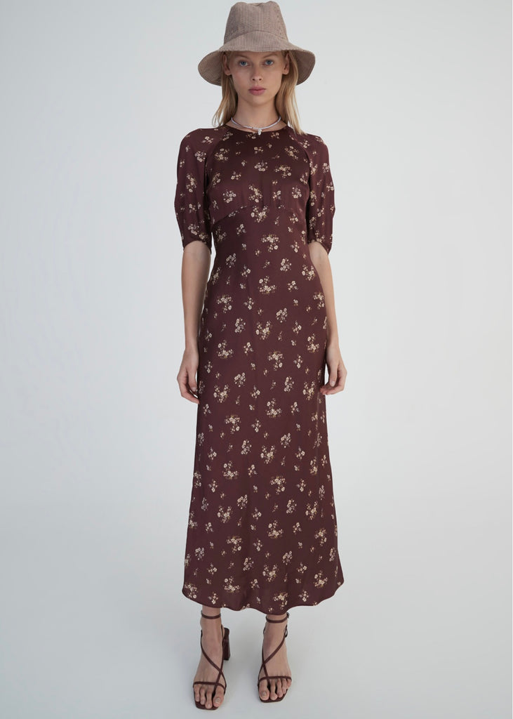 Dress | Shetland (Dark Floral)