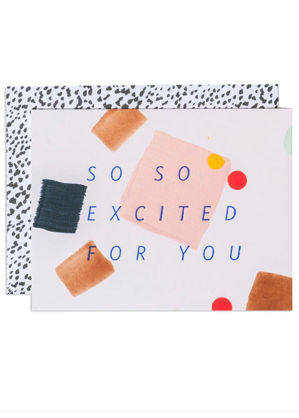 Card | So so excited for you