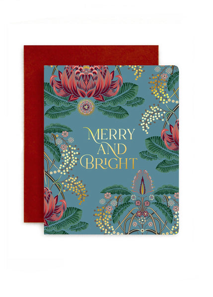 Card | Bright and Merry