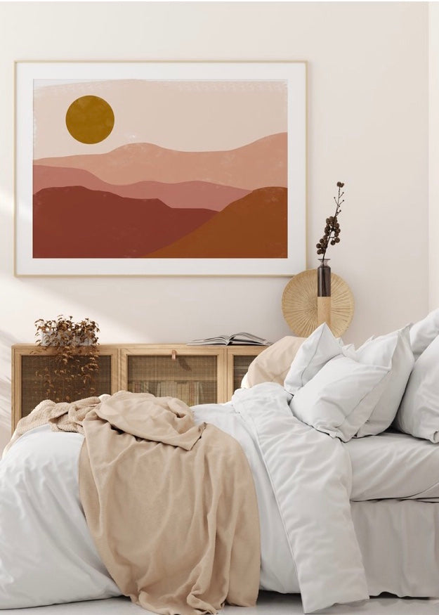 Art Print | Red Desert