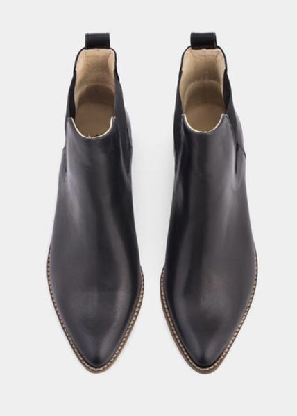 Shoe | Stella (Black w. antique sole)