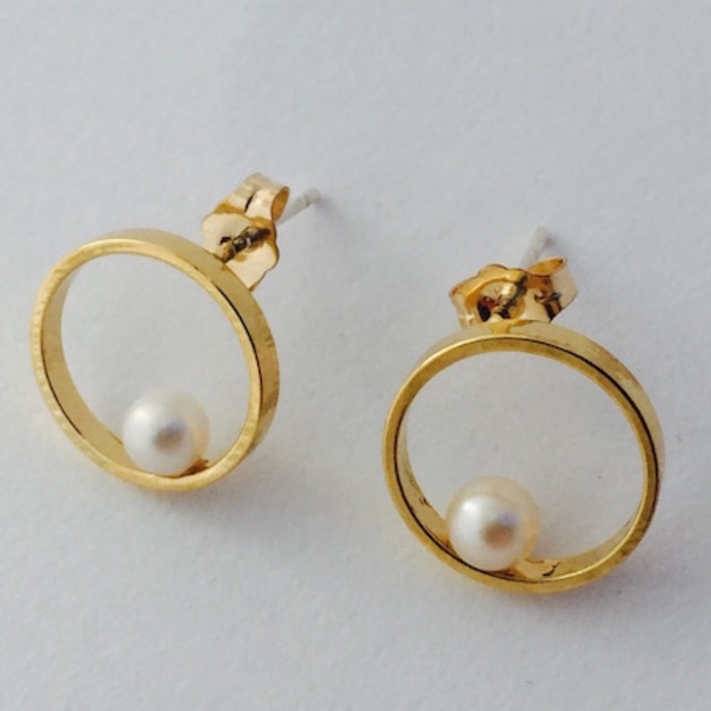 Earrings | Orb Studs (Gold)