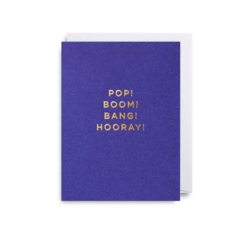 Card | Pop! Boom! Bang! Hooray!