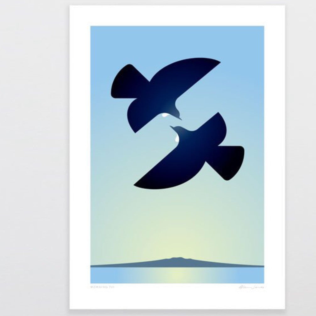 Art Print | Morning Tui