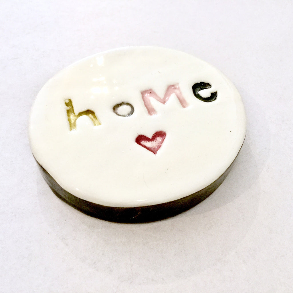 Ceramic round tile | Home