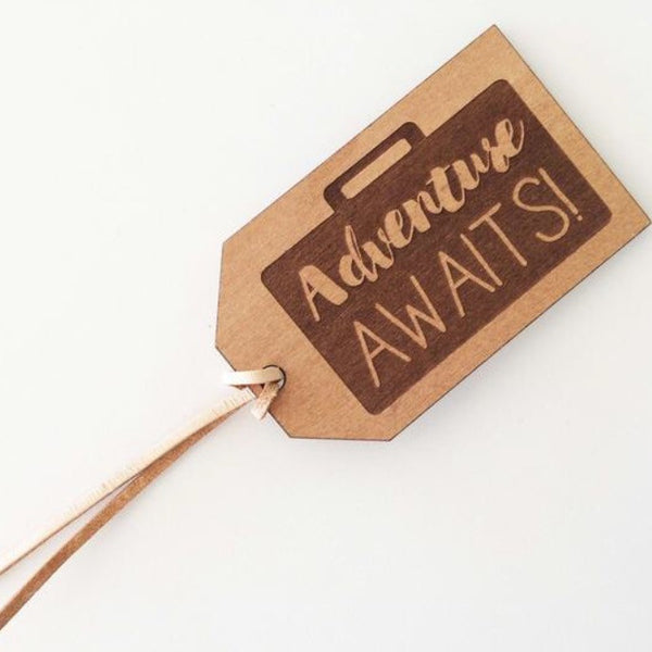Rimu Luggage Tag | Adventure Awaits