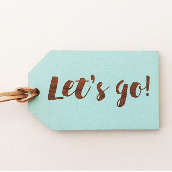 Rimu Luggage Tag | Lets go