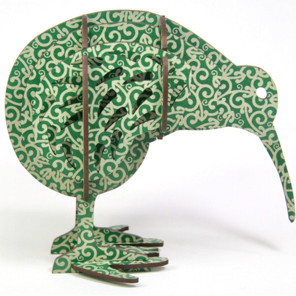 Sculpture | Koru Green Kiwi