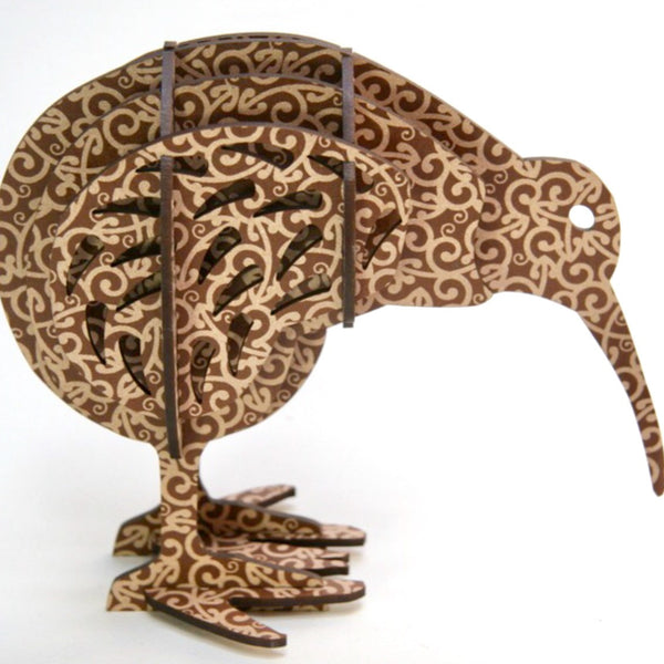 Sculpture | koru Brown Kiwi
