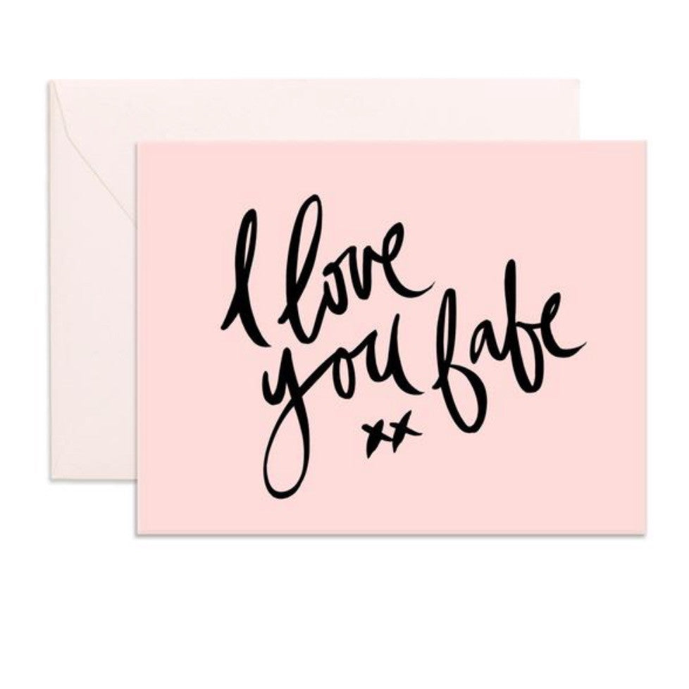 Card | I Love You Babe