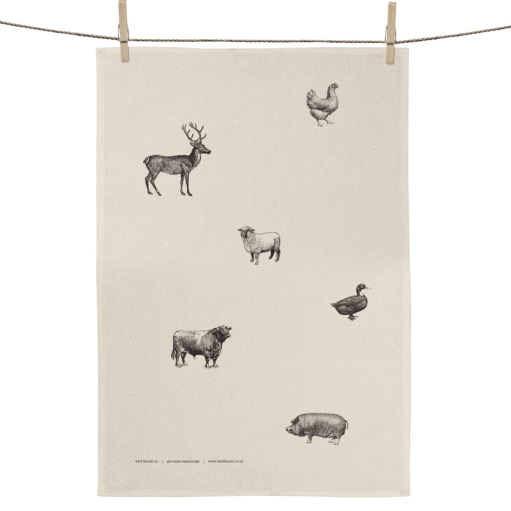 Tea Towel | Animals