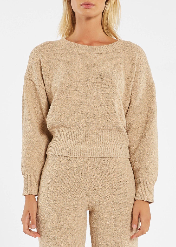Jumper | Whitewash Knit (Natural)