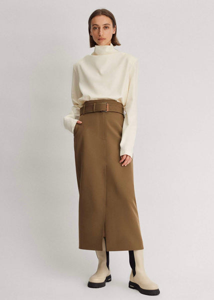 Skirt | Mimi (Brown)