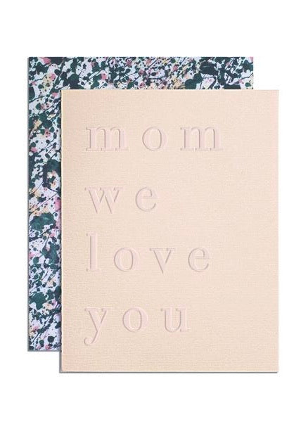 Card | Mum We Love You