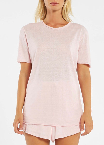 Top | Cove Tee (Powder Pink)