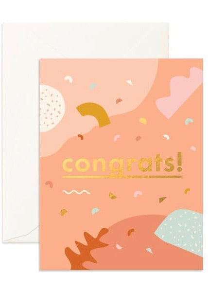 Card | Congrats Abstract