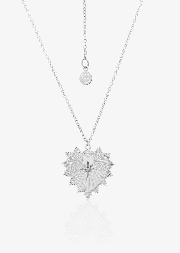 Necklace | Heart of Love (Silver)