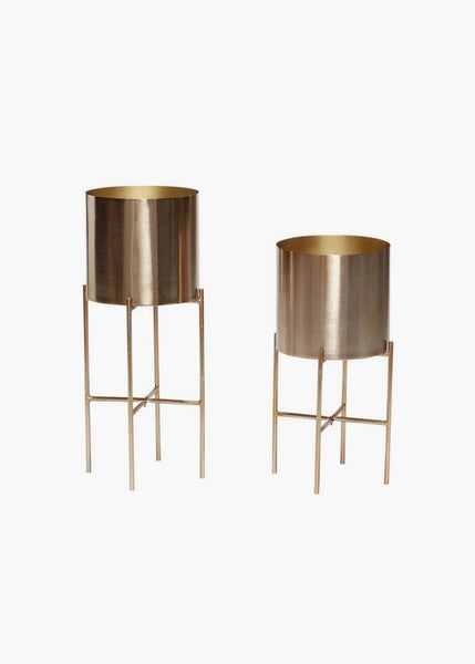 Plant Pot | Brass