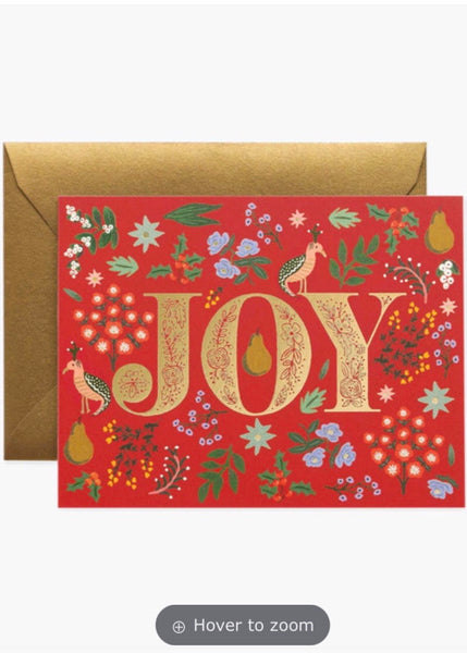 Card | Joy Christmas