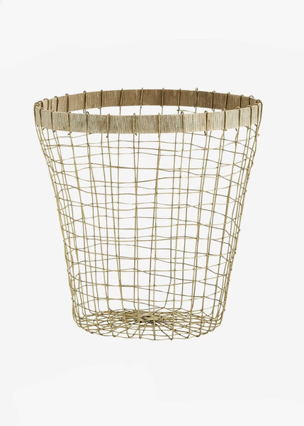 Basket | Wire Brass (Small)