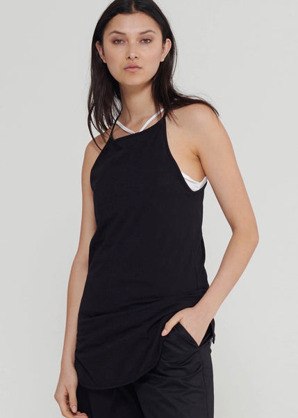Top | Long Extension Tank (Black)